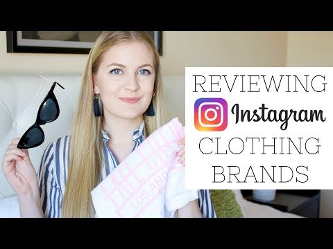 REVIEWING A CLOTHING BRAND FROM INSTAGRAM | FATE CREW HAUL