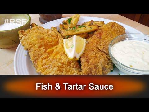 Fish & Tartar Sauce - Ready, Set, Flambé: Fun Size