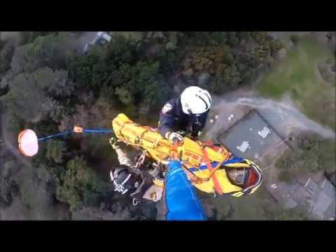 STARR 1 Rescues Injured Mountain Biker in Briones Regional Park