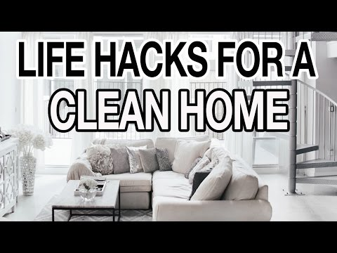 10 LIFE HACKS FOR A CLEAN + ORGANIZED HOUSE!