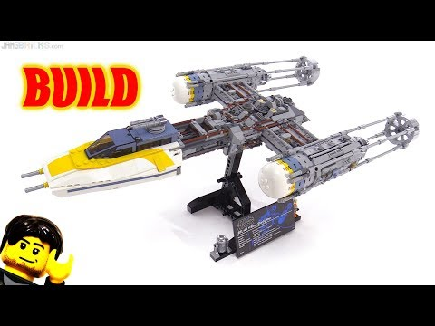 Time-Lapse BUILD: LEGO Star Wars UCS Y-Wing Starfighter 75181