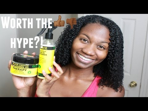 Worth the hype?! NEW EcoStyle Leave In & Deep Conditioner | Demo & Review