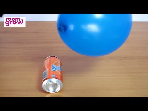 Can you move a can with a Balloon?