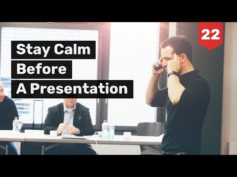 How I Stay Calm before a Presentation & Why I´m Not Invited to Birthday Parties | Cédric Waldburger