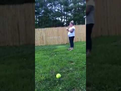 3 Year old Smashes Twins Gender Reveal!!