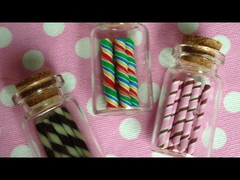 How To Make Mini Polyclay Chocolate Wafer Sticks - DIY Crafts Tutorial - Guidecentral