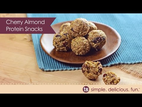 Cherry Almond Protein Snacks Recipe