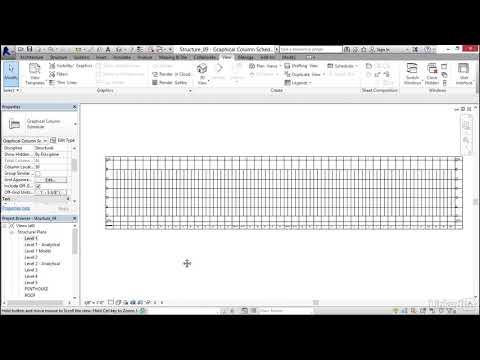 013 Creating a column schedule