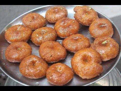 Flaky Badusha Recipe - Balushahi Recipe