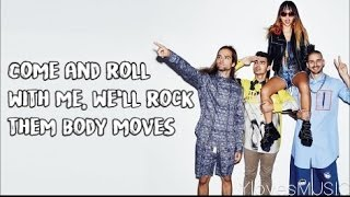 DNCE - Body Moves (Lyrics)