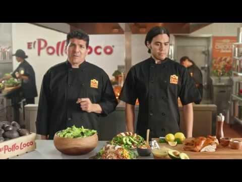 EL POLLO LOCO Hand Carved Chicken Salad commercial!