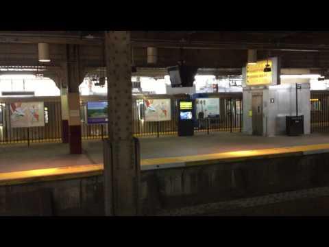 Inbound Port Authority Trans-Hudson at Newark, NJ - Penn Station (NWK)