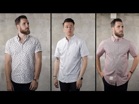 3 Ways to Wear a Short Sleeve Button Down with Gent's Lounge