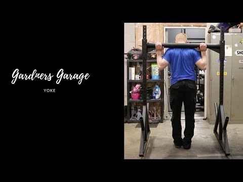 How to build a YOKE - like in the Crossfit Games.  Or your own Garage Gym