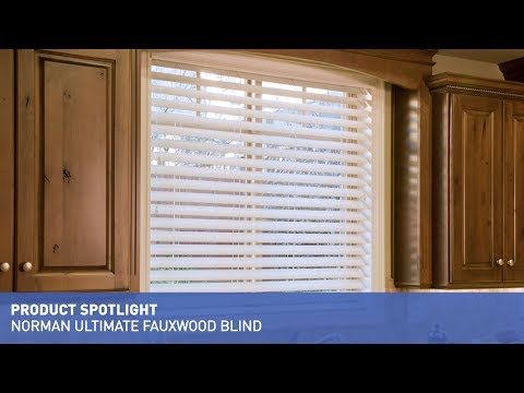 Norman Ultimate Faux Wood Blinds with SmartPrivacy Product Spotlight
