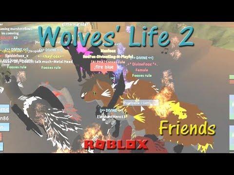 Roblox - Wolves' Life 2 - Friends VI - HD