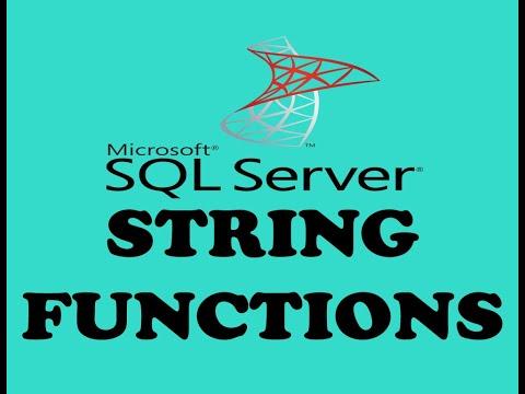 STRING FUNCTIONS IN SQL SERVER (URDU / HINDI)