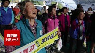 The S Korean village furious with Trump - BBC News