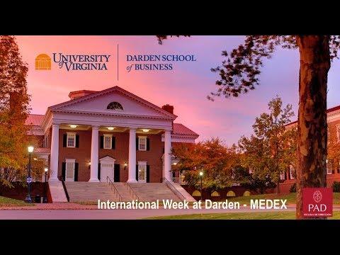 Experiencia Internacional del MEDEX en DARDEN