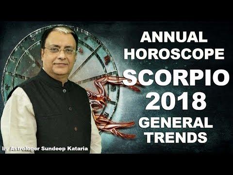 Scorpio Forecast 2018, Scorpio Prediction, Scorpio Astrology, Scorpio Horoscope 2018   General Trend