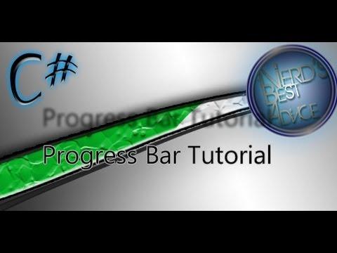 C# Progress Bar Tutorial! | Tut #4