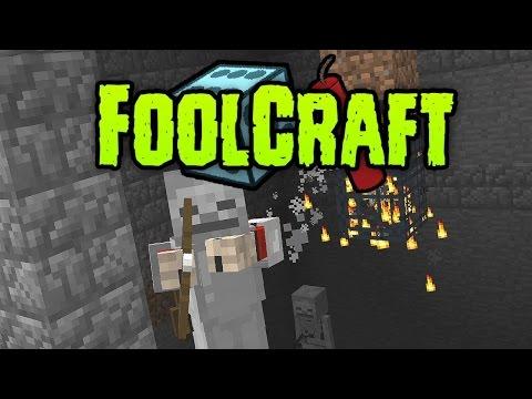 FoolCraft #08 - SPAWNER MOVING!!! (Modded Minecraft)