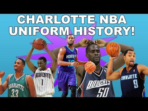 NBA Uniform History | Charlotte Hornets & Charlotte Bobcats Jerseys