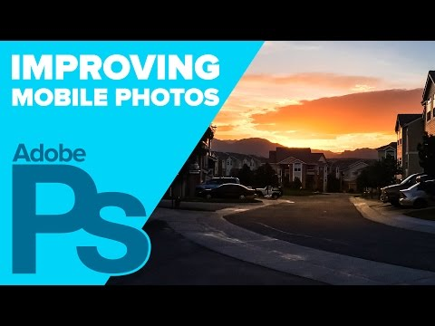 How to Edit your iPhone images using Photoshop