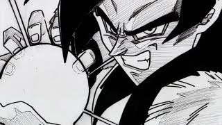 No 1305 How To Draw New Broly Legendary ブロリー