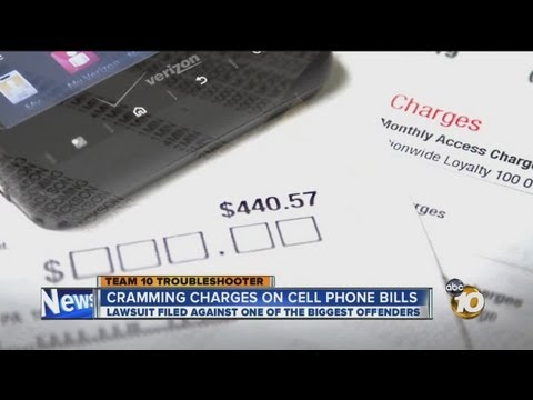 FTC: Illegal charges 'crammed' on cell phone bills; Team 10 looks for answers
