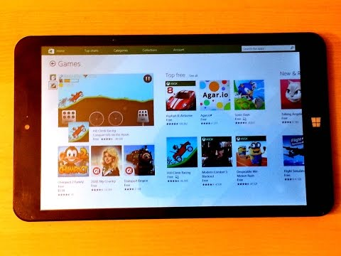 Chuwi Vi8 Windows 8.1 and Android Dual OS Tablet Review - Part 2 (Windows Mode)