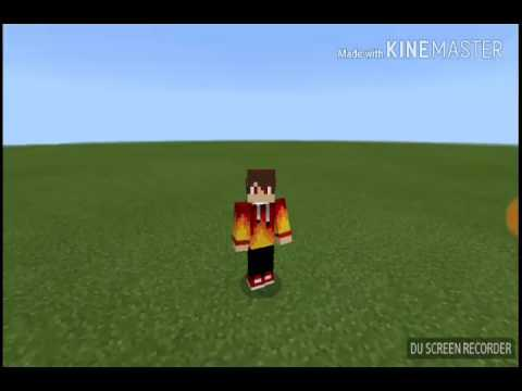 How to make a WORKING MIRROR IN MCPE!!!!
