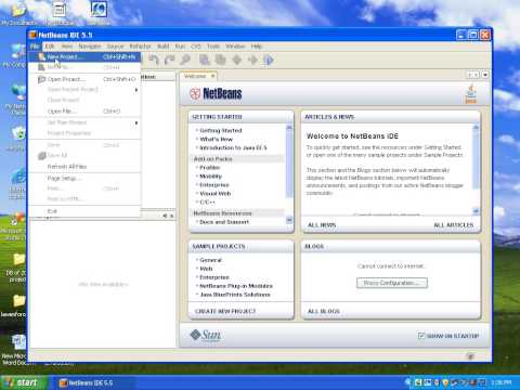 How to Install NetBeans 5.5 IDE