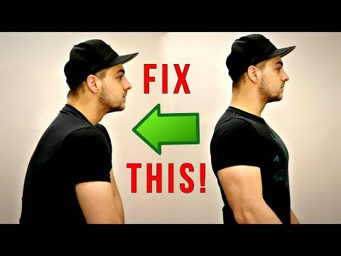 The BEST WAY To Fix Kyphosis! (Rounded Shoulders Fix)