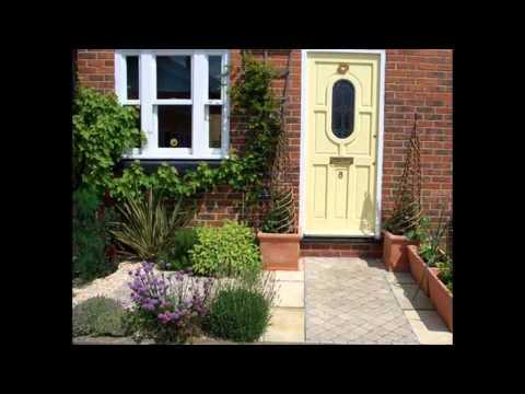 Design ideas for Small terraced garden
