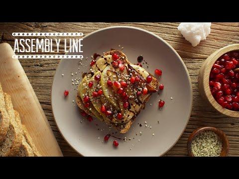Sunflower & Pomegranate Toast | Assembly Line
