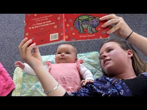 Learning Starts Early  - Talk, rhyme, read and play with your baby everyday