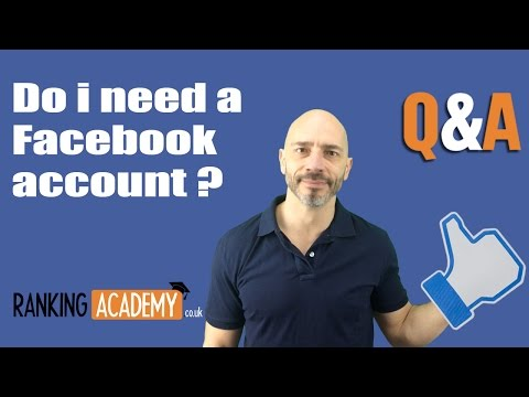 Do I need a Facebook account to create a business page?