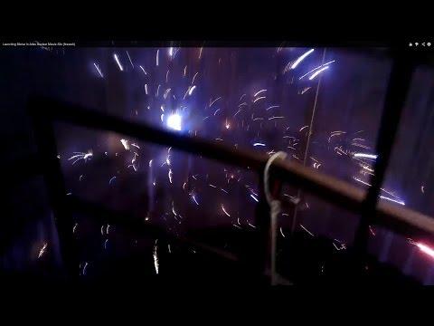 Launching Mortar In Atlas Nuclear Missle Silo (firework)