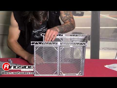 STEEL CAGE Accessory Mattel WWE Playset For Wrestling Ring Action Figures