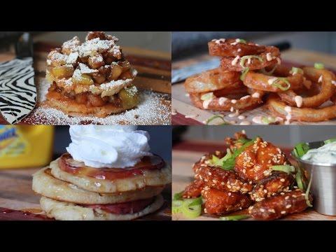 5 Ways to Get Creative With Pancake Batter