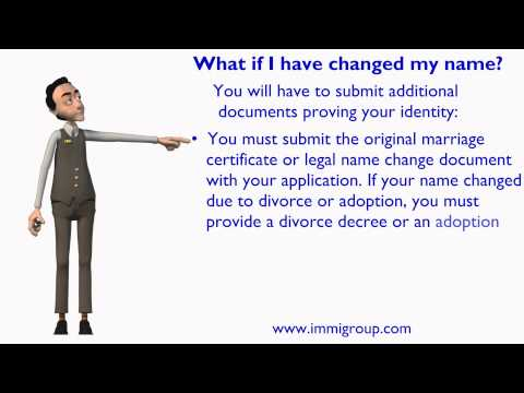 What if I have changed my name?