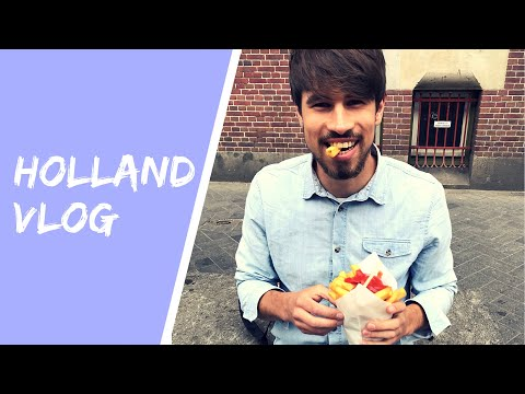 NETHERLANDS VLOG/ HOW TO TRAVEL AS A VEGAN