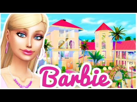 BARBIE LIFE IN THE DREAMHOUSE! [ The Sims 4 Build ]