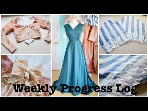 Weekly Progress Log #8 : Sewing & Costumery