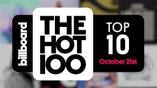 Early Release! Billboard Hot 100 Top 10 October 21st 2017 Countdown   Official