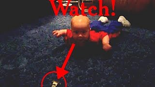 Baby Crawling To Watch