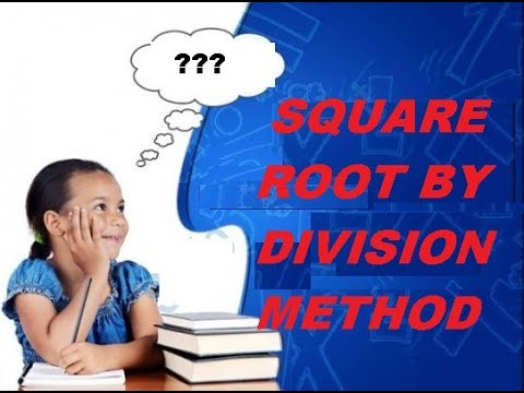 FIND SQUARE ROOT BY DIVISION METHOD IN HINDI