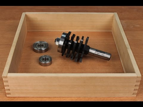 Infinity Cutting Tools - Box Joint Router Bit