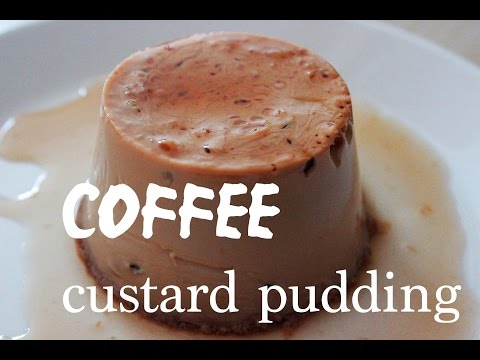 COFFEE CUSTARD PUDDING BY SPANISH COOKING